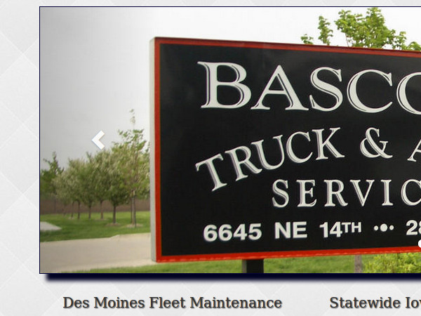 Small image of Bascom Truck and Auto Web Site